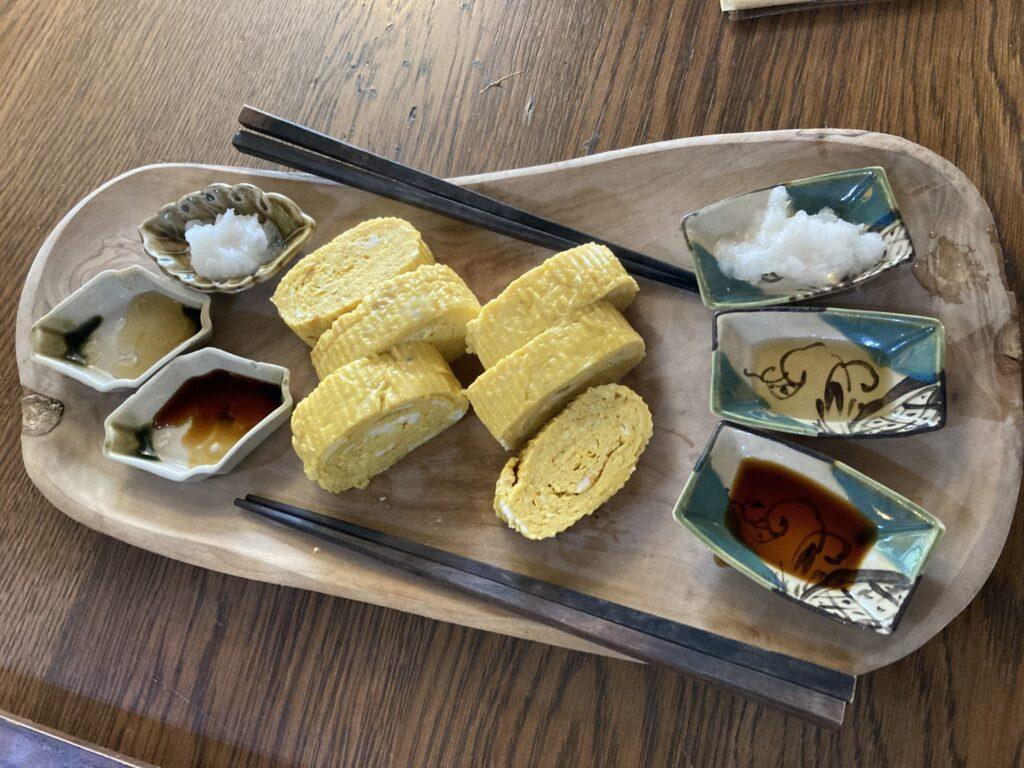 soba cafe 日本の暮らし だし巻き卵